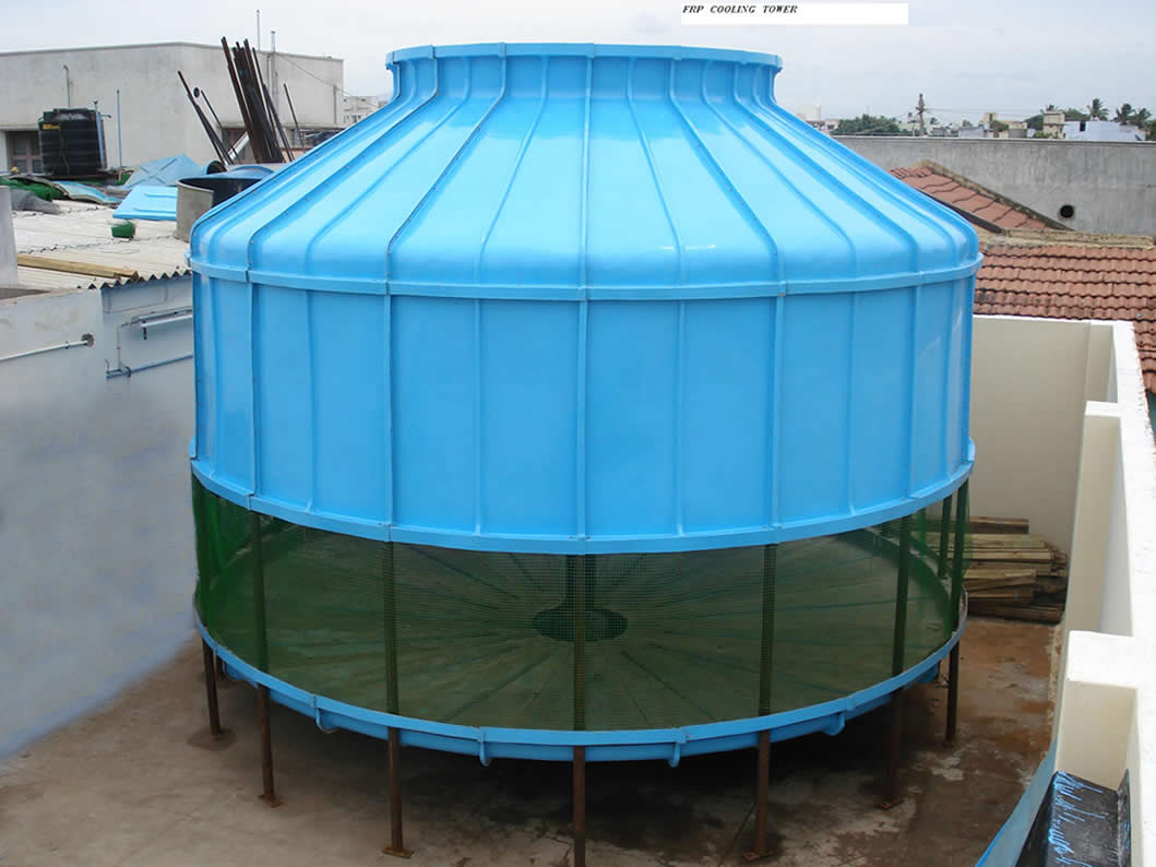 Round shape cooling Tower Manufactuurers