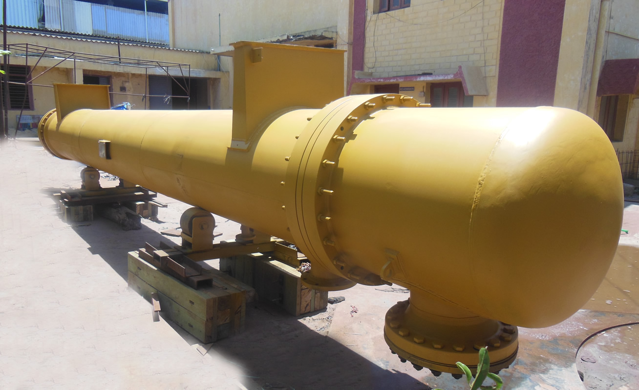 Vertical Shell and Tube Heat Exchanger Manufacturers