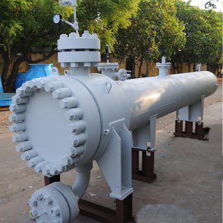 Shell and U Tube Heat Exchanger High Pressure