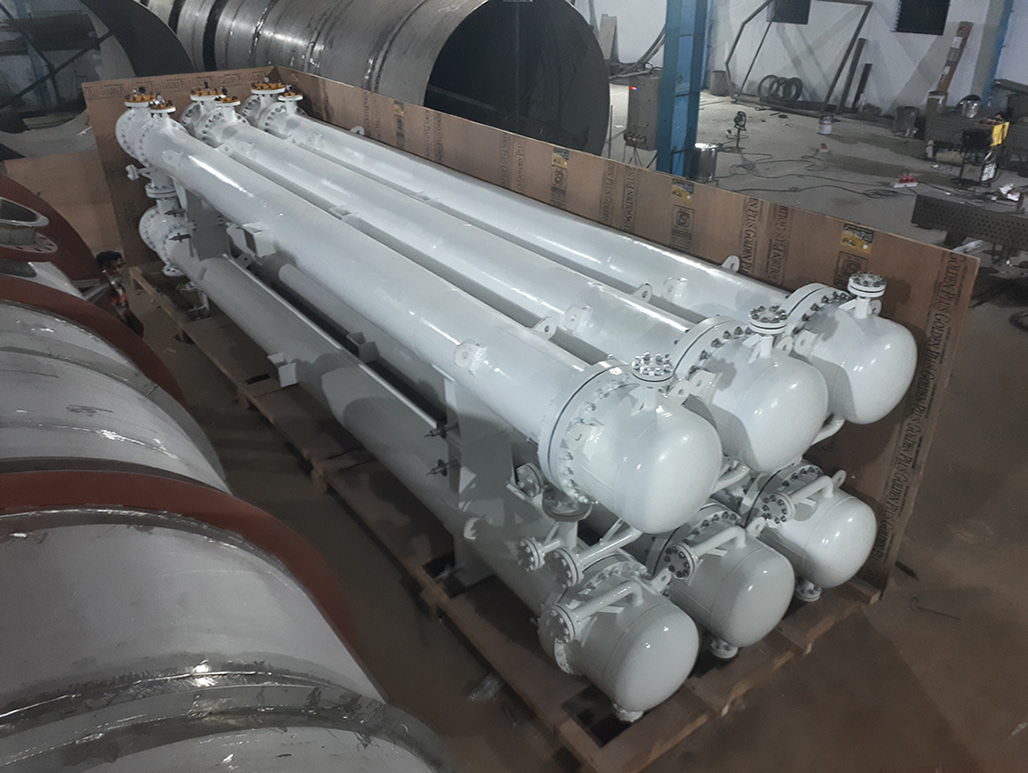 Stacked Type Shell and tube Heat Exchanger Manufactureres